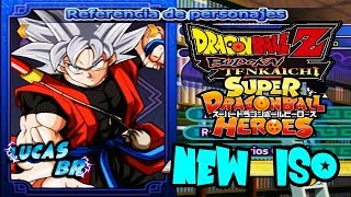 Baixar NEW ISO| Super Dragon Ball Heroes Budokai Tenkaichi 3 - Roster and All Costume - Iso by Pipe Game