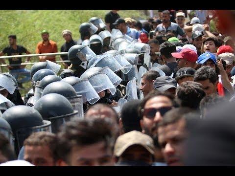 شرح مفصل | البصرة شهدت تظاهرات حاشدة احتجاجا على سوء الخدمات  - 22:22-2018 / 7 / 20