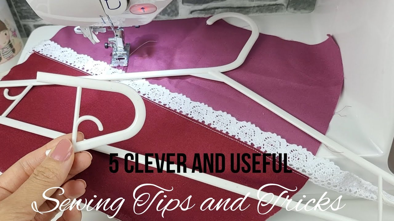🌟 5 Clever Sewing Tips and Tricks that you have never seen before | Sewing Hacks with Hangers #52