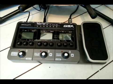 Zoom G3X demo