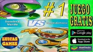 Plants vs Zombies Heroes #1 El viaje salvaje de zombidinfinito Sombra Verde VS Zombidinfinito