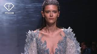 True elegance of Ziad Nakad: S/S 2020, Paris Haute Couture | FashionTV | FTV