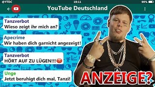 ApeCrime vs. TANZVERBOT! 😂 | Youtube Beef eskaliert...
