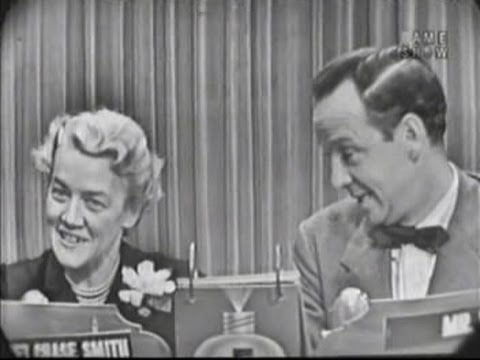 What's My Line? - Senator Margaret Chase Smith (Jun 14, 1953)