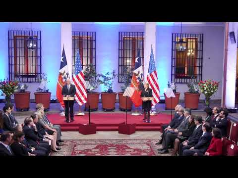 Vice President Pence in Chile