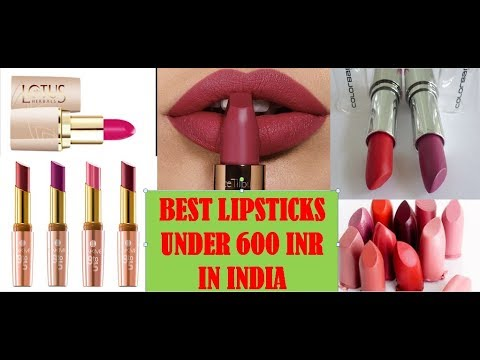 top-10-best-lipstick-in-india-with-price-|-best-matte-lipstick-in-india-with-price