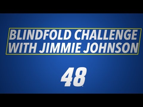 Blindfold Challenge with Jimmie Johnson