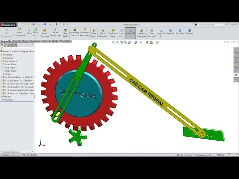 PDF) SolidWorks Motion Study Tutorial