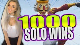Fortnite - NEW Halloween Skins! 1100+ Solo Wins! SEASON 6 SOLO GRIND!