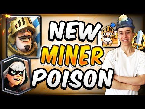 ELECTRO DRAGON STILL DOMINATES!  New Miner Poison Deck! — Clash Royale