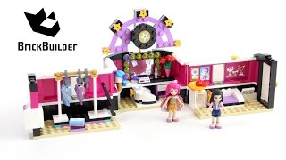 Lego Friends 41104 Pop Star Dressing Room - Lego Speed Build