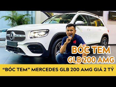"""Bóc tem"" Mercedes GLB 200 AMG giá 2 tỷ vừa về đại lý | Autodaily"