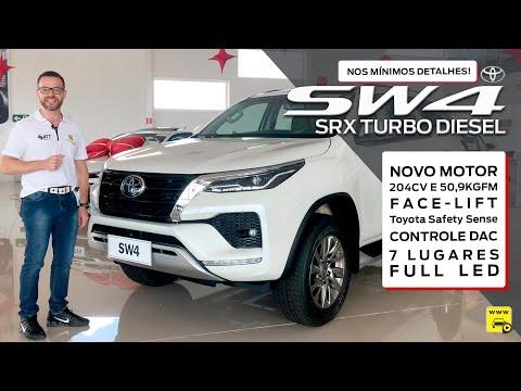 Nova Toyota SW4 SRX 2021 Avaliação Completa nos Mínimos Detalhes