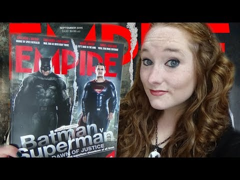 *ASMR* Soft Spoken Leafing through Empire Magazine (Issue: September 2015) | Amy McLean