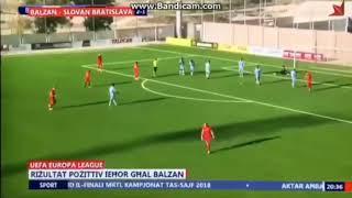 Balzan - Slovan Bratislava 2-1 All Goals