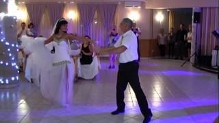 Gyönyörű menyasszony szuper esküvői nyitótánc Bettina és Krisztián 2015.08.15.