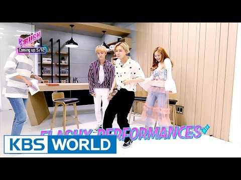 Triple H is here!!!! [KBS World Idol Show K-RUSH / 2017.05.12]