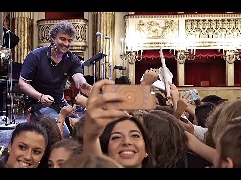 Jonas Kaufmann⭐Masterclass of the Tenor Jonas Kaufmann at the Teatro San Carlo