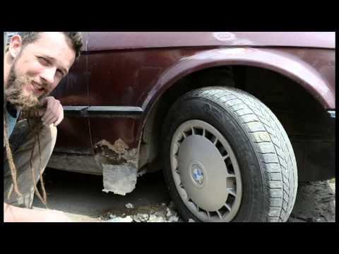 Рабочие будни джокера. Пролог. Оклейка винилом автомобиля BMW E30