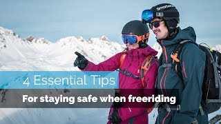 AVALANCHE SAFETY | 4 ESSENTIAL TIPS FOR STAYING SAFE WHEN FREERIDING