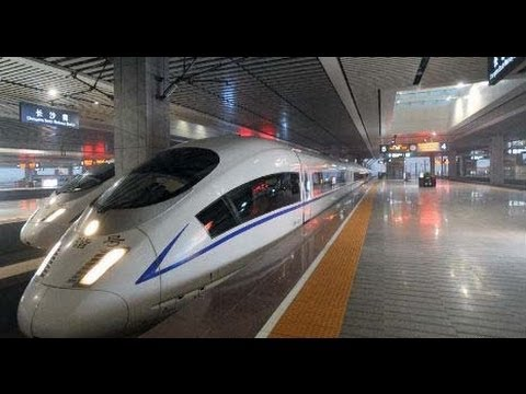 China's World's longest High-Speed Rail Route Opens