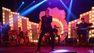 Wedding event, Shaan live performance