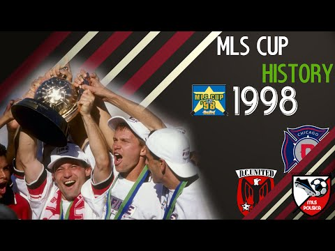 History of Major League Soccer: MLS CUP 1998 | MLS Polska HD