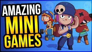 The 6 BEST MINI GAMES in Brawl Stars! + Giveaway Winners!