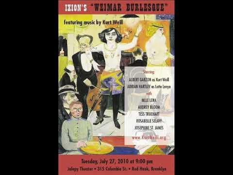 Ixion Burlesque * Weimar Burlesque * Utzulanglichkeit * Flyer and Rehearsal Tape