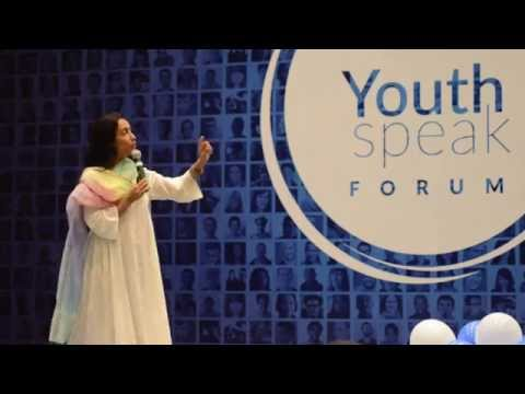 Leading Transformational Change | Shaheen Mistri | Global YouthSpeak Forum 2015