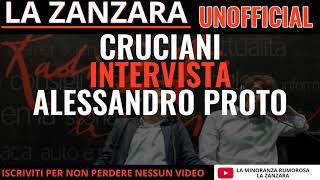 Cruciani intervista Alessandro Proto. La Zanzara 08 Gennaio 2018