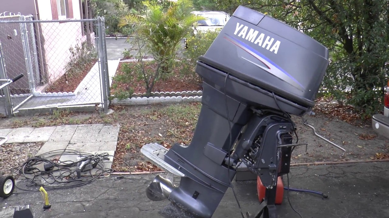 Fixing A Yamaha 90hp 2 Stroke Outboard Motor on