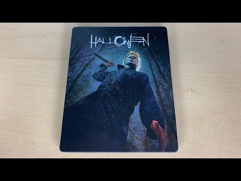 Halloween (2018) - Best Buy Exclusive 4K Ultra HD Blu-ray SteelBook Unboxing