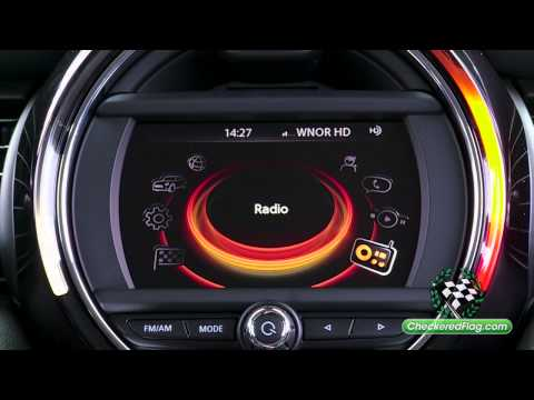 How to Program Radio Stations in MINI with Visual Boost Option