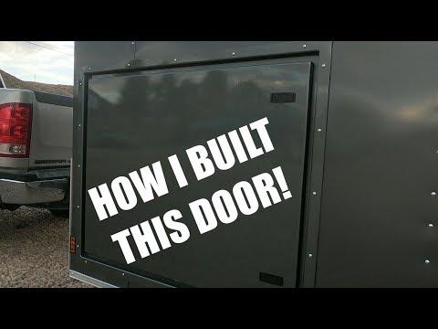 Enclosed to Toyhauler Conversion - #2 Cargo Door Build