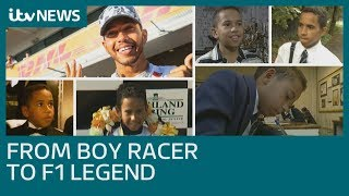 Lewis Hamilton: From schoolboy racer to F1 motorsport legend | ITV News
