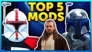 Top 5 Mods of the Week - Star Wars Battlefront 2 Mod Showcase #63 Jango Fett