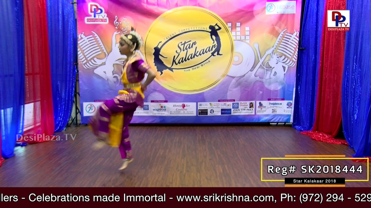 Participant Reg# SK2018-444 Performance - 1st Round - US Star Kalakaar 2018 || DesiplazaTV