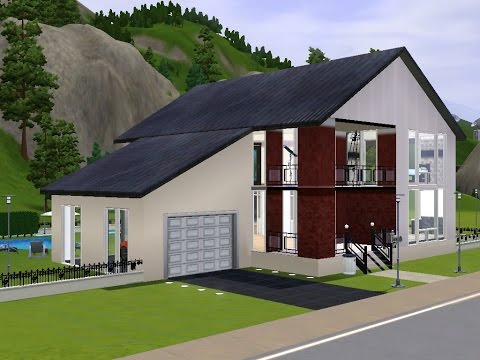 Ashiyato The Sims3: Speed House Building - Russian country house