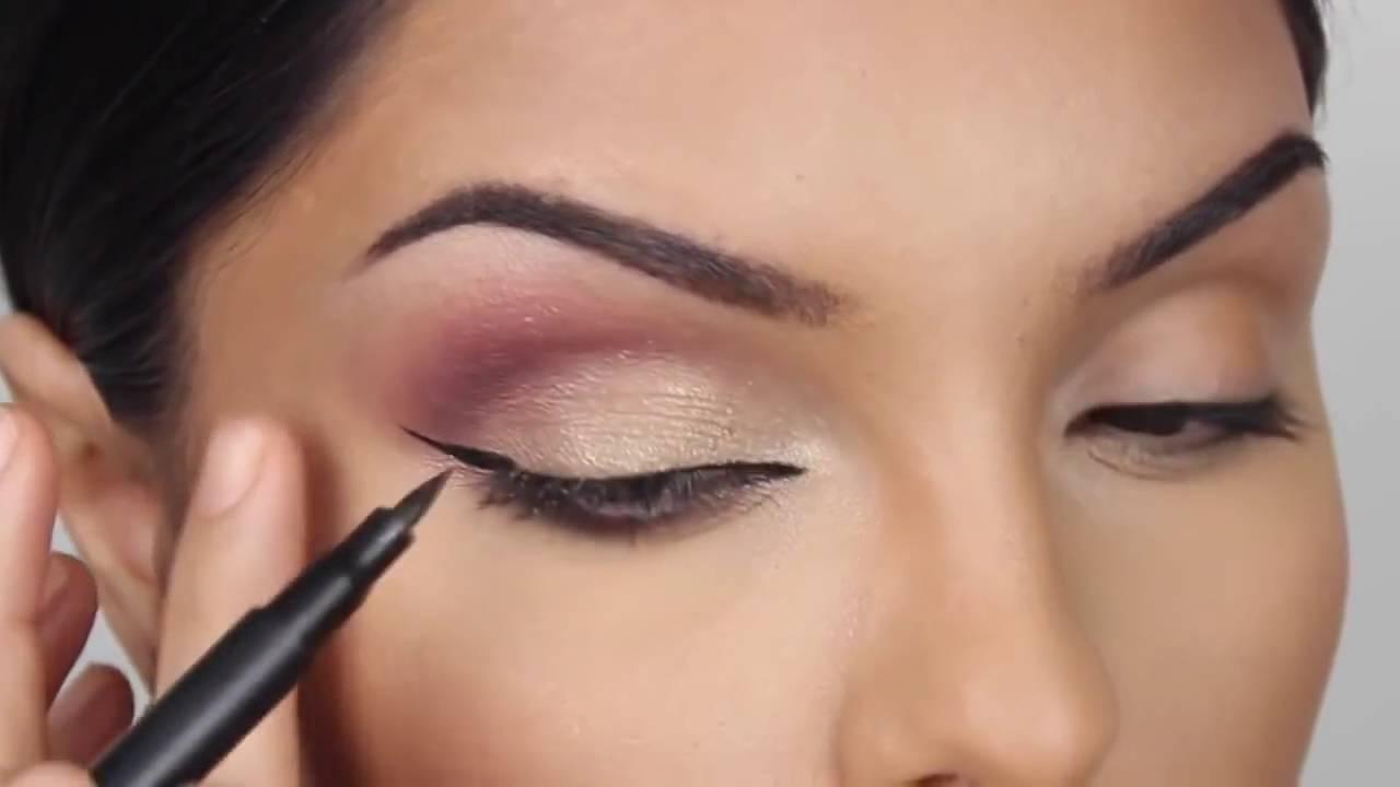 Maquillage soirée pour lété ! - YouTube