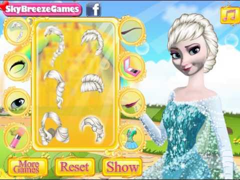 Elsa and Anna Makeup (Холодное сердце: Макияж Анны и Эльзы) - прохождение игры