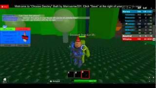 Roblox World:Choose Destiny RPG