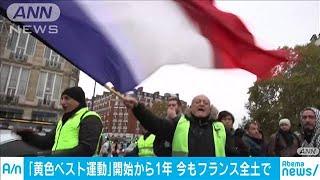 フランス 「黄色ベスト運動」開始から1年(19/11/17)