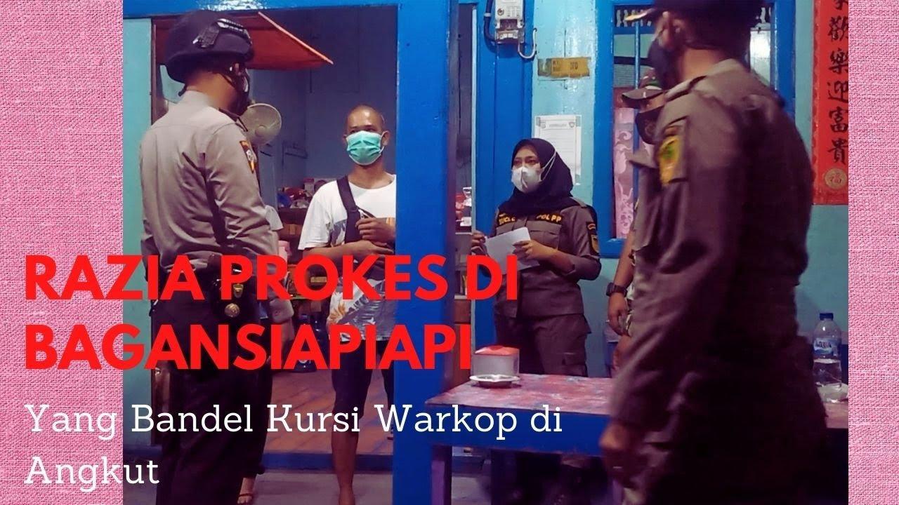 Pemilik Warung yang Melawan Saat Razia Prokes Terancam Denda dan Kursinya di Tahan Petugas