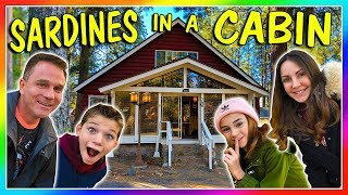 SARDINES IN A MOUNTAIN CABIN | HIDE AND SEEK | We Are The Davises