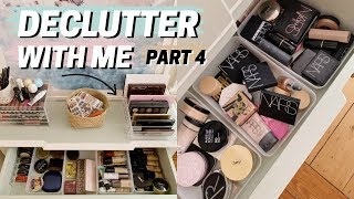 declutter with me 💄 pt 4 : makeup collection