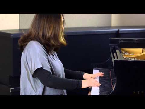 Simone Dinnerstein, piano: J.S. Bach Inventions No. 1, 13 and 10