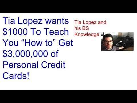 Up dating My review on Tia Lopez's Credit Mentor Program $997?