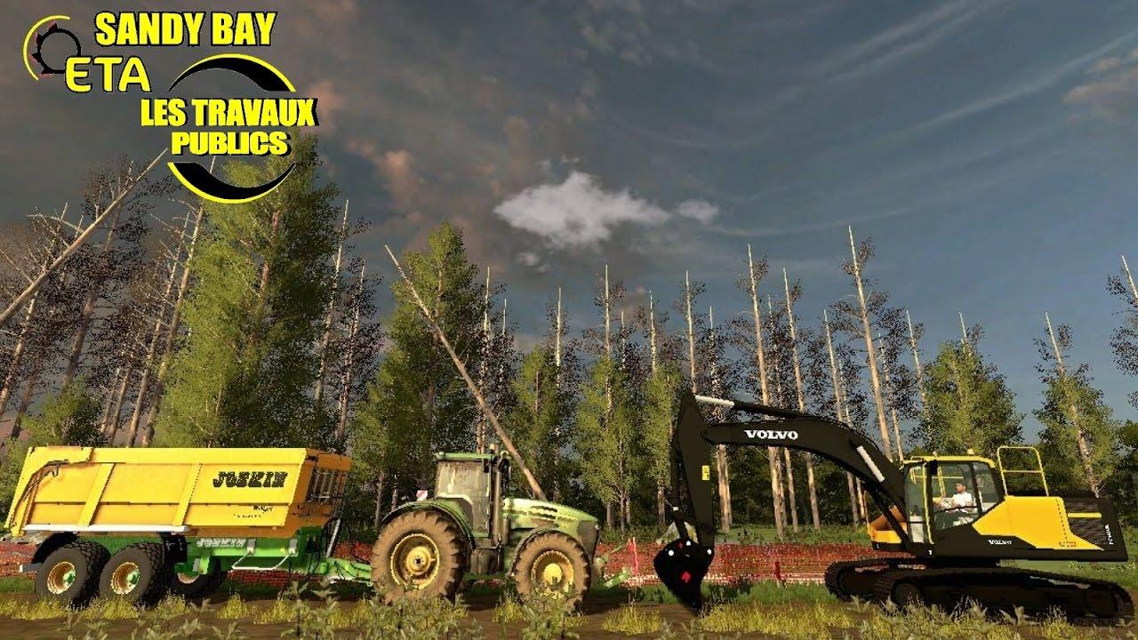 Farming simulator 17 travaux publics pelleteuse volvo - Pelleteuse simulator gratuit ...