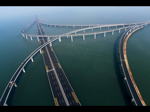 World Largest Sea Bridge According To 2015 Analysis-- Danyang–Kunshan Grand Bridge in China
